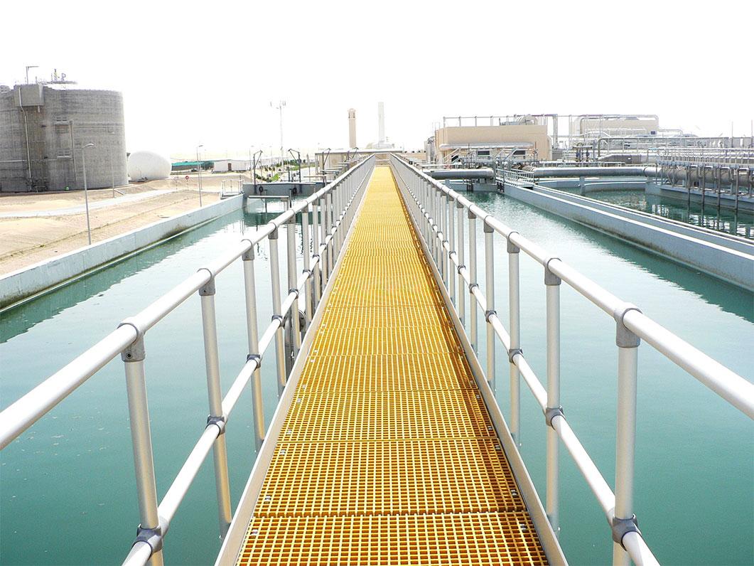 GRP Ladders and Walkway platforms – Supreme